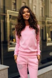 Розовый с лампасами